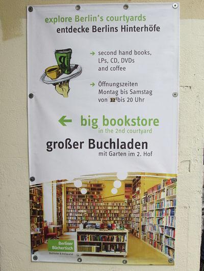 Berliner Büchertisch Plakat