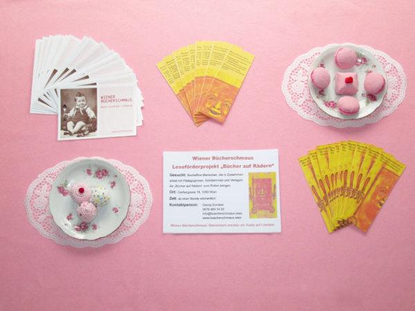 Der Wiener Bücherschmaus auf der freiwilligenmesse im MAK