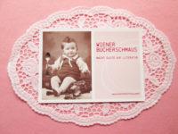 Postkarte des Wiener Bücherschmaus