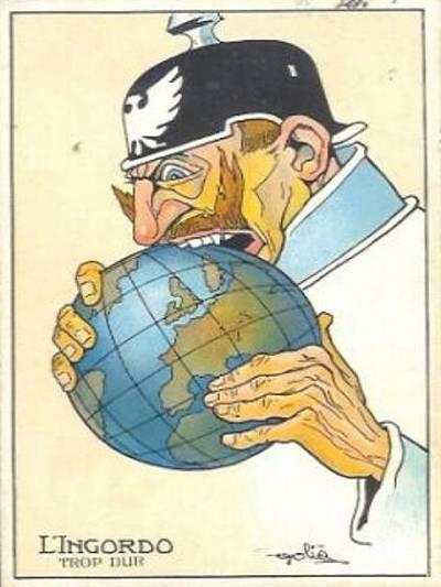 Französische gemeinfreie Postkarte Postkarte