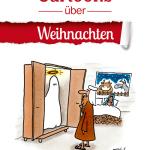 Cartoons über Weihnachten aus dem Holzbaum Verlag