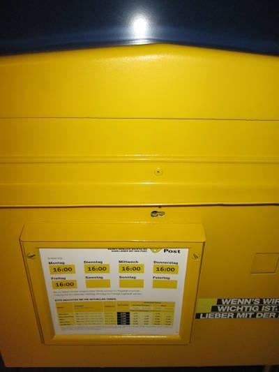 Briefkasten - Infos vom Wiener Bücherschmaus