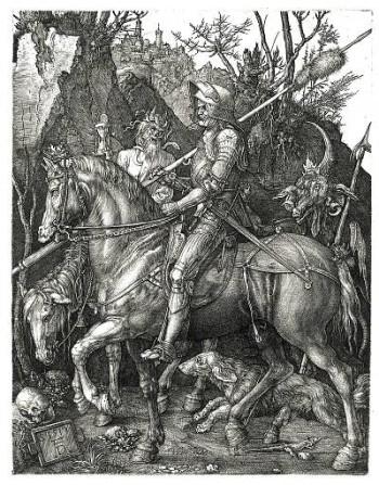 Ritter, Tod und Teufel von Dürer