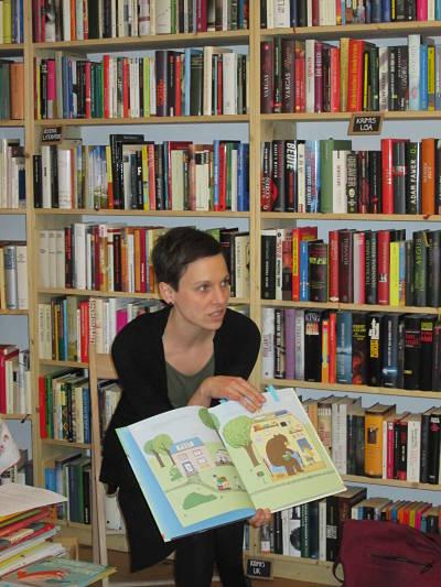 Bilderbuchworkshop mit Andrea Kromoser