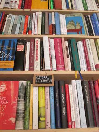 Bücherschmaus Österreichische Literatur