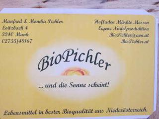 Firmenschild BioPichler