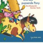 Cover des Kinderbuches Cowboy-Klaus-und-das-pupsende-Pony