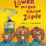 Cover des Kinderbuches Löwen mögen schöne Zöpfe