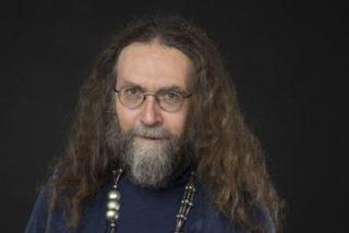 Andre Blau Portraet aus der Veranstaltung ein Satiremix