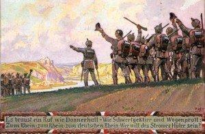 Erster Weltkrieg - Kriespropagandaplakat