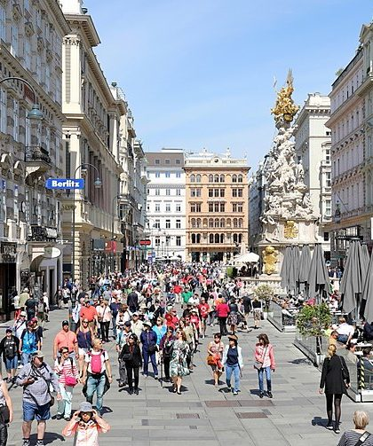 Der Graben in Wien autofrei