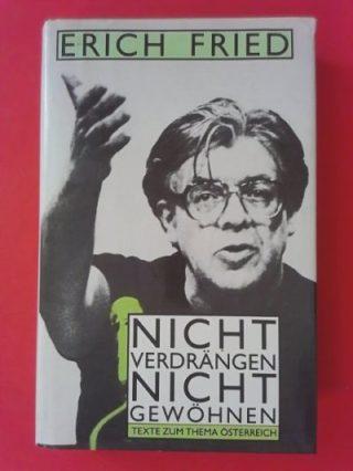 Erich Fried Buchcover