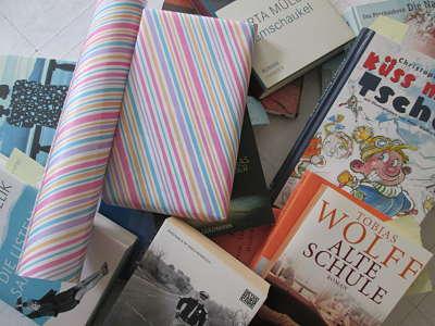 Eine Auswahl an Büchern für das Bücherabo