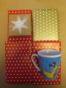 nachhaltig und zeitlos - eine Buchbox als Geschenk verpackt