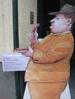 Bücherflohmarkt in Wien-Mariahilf